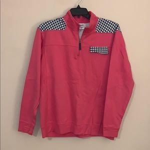 Royce preppy pink pullover